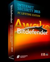 Bitdefender Internet Security 2013 PC Lifetime Edition
