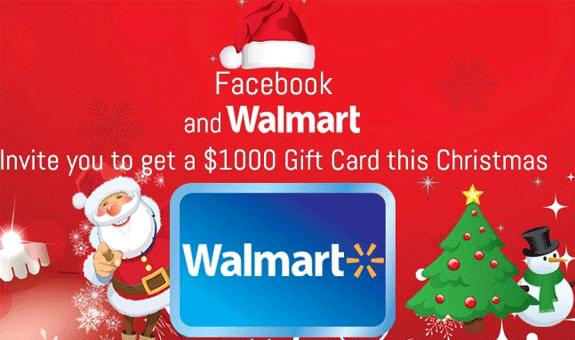 1000 Walmart Giftcard