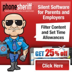 PhoneSheriff  v2.0 (12-Month License) 25% discount