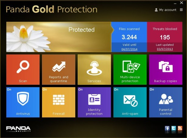 Panda Gold Protection 2014