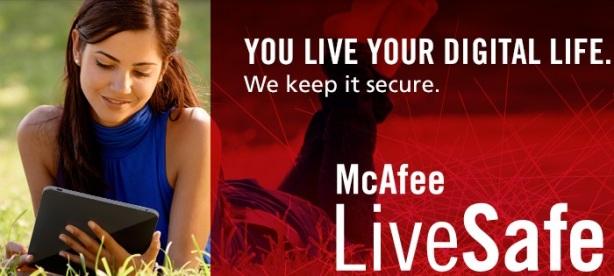 McAfee LiveSafe service