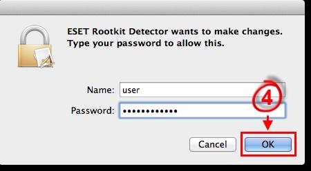 Rootkit Detector Login