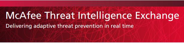 Threat Intelligence Exchange