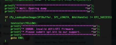 UEFI BIOS Rootkit