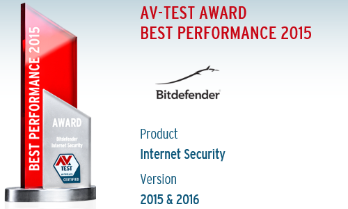 For home users: Bitdefender Internet Security